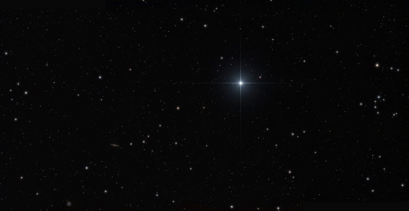 Merak region Ursa Major
