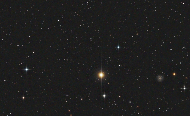 Tania Australis and NGC3184 in Ursa Major