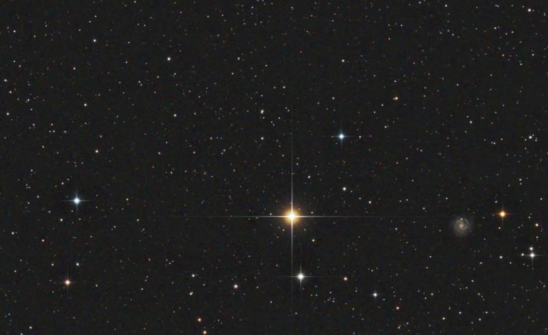 Tania Australis and NGC3184 in Ursa Major