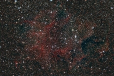 NGC 6871 region in Cygnus