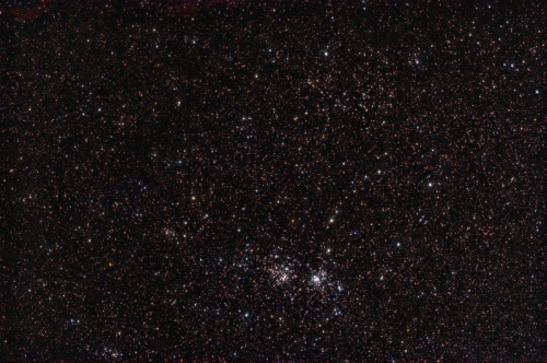 The Double Cluster and Stock 2